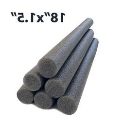 Oodles of Noodles 1.5 Inch x 18 Inch Solid Core Foam Sticks-