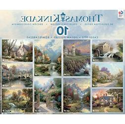 Ceaco 10-in-1 Puzzle Set - Thomas Kinkade