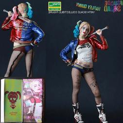 """12""""CRAZY TOYS DC SUICIDE SQUAD HARLEY QUINN COLLECTIBLE STAT"""