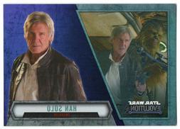 2016 Star Wars Evolution Lightsaber Purple 45 Han Solo Smugg