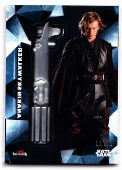 2018 Topps Finest Anakin Skywalker Lightsaber Hilt Medallion