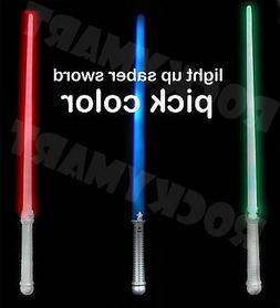 "28"" Light Saber Sword Red Green Blue RM4017"