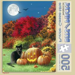 Bits and Pieces - 500 Large Piece Puzzle - Midnight - by Art