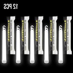 "Lumistick 6"" Emergency 15mm Thick Flat Bottom Illuminating L"