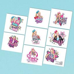 8 JoJo Siwa Temporary Tattoos