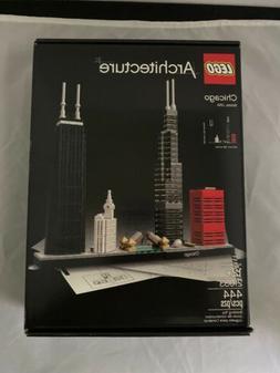 LEGO Architecture Chicago 2017  new in box sealed Damaged Bo
