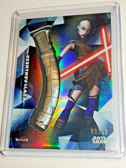 Asajj Ventress - Topps Finest Star Wars Lightsaber Hilt Meda