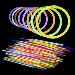 Lumistick AUTHENTIC 8 Inch Glow Sticks - Bendable Glow Stick