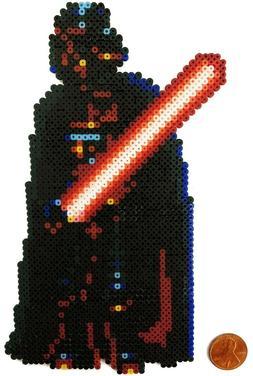 Darth Vader Stars Wars Mini Bead Sprite Artkal Pixel Art Ico