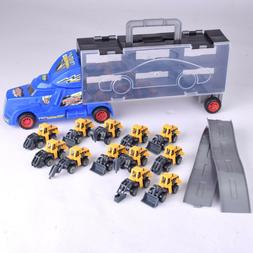 Die-cast Construction Truck Vehicle Car Toys Set Play Vehicl