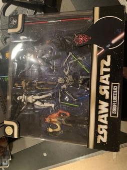 Disney Parks Star Wars Prequel Collection Figures 6 Pack Gri