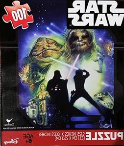 "New Disney Star Wars 100 Piece 9"" x 10"" Jigsaw Puzzles FACT"
