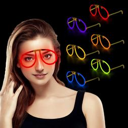 Fun Central G709 Glow Stick Eye Glasses - Assorted Colors 6c