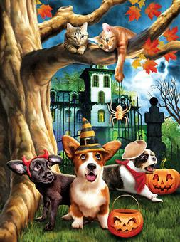 Sunsout Halloween Hijinx Jigsaw Puzzle