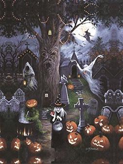 HALLOWEEN NIGHT by Susan Rios - SunsOut 300 OVERSIZED piece