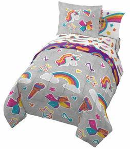 Jay Franco Nickelodeon JoJo Siwa Rainbow Sparkle & Unicorn 5