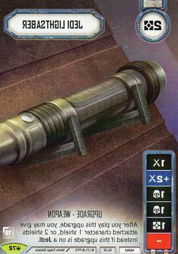 Jedi Lightsaber Promo Star Wars Destiny Card Game