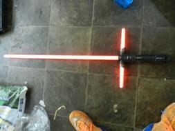 KYLO REN Deluxe Force FX LIght Saber Star Wars Black Series