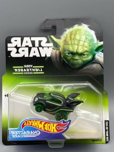 2018 star wars character cars yoda lightsaber