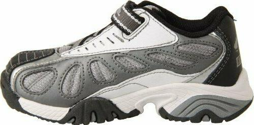 Childrens Wars Light-Sabers Grey White Sneakers YB40670 10-2.5