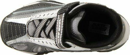 Childrens Star Dueling Light-Sabers Grey Sneakers YB40670 10-2.5