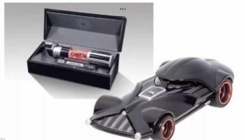 Darth Light Saber 2014 SDCC Exclusive Star Wars Hot Wheels Diecast
