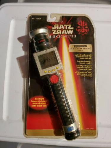 handheld lightsaber duel game