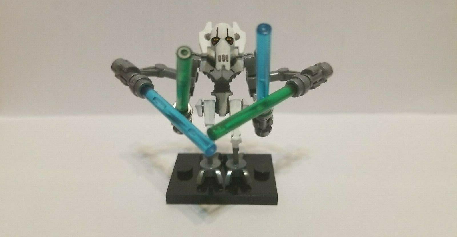 lego general grievous new 4 lightsabers