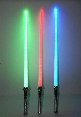 lot of 3 star wars lightsaber light
