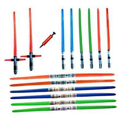 megasumer 14 premium inflatable light saber swords
