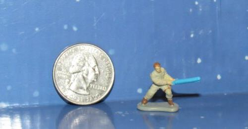 Micro Luke Figure Lightsaber Wars Playset