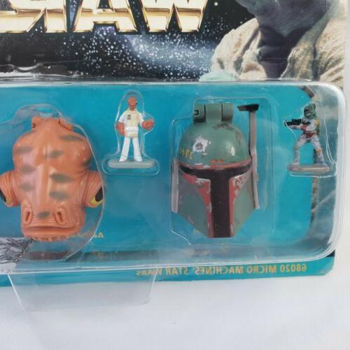 *NEW* Star Micro Machines, 3 Figure Heads, 1
