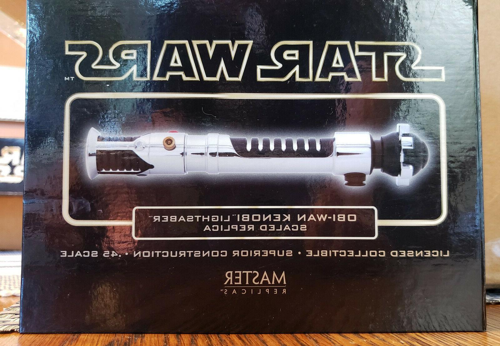 Master Replicas Obi-Wan Kenobi Star Wars LIGHTSABER Chrome III