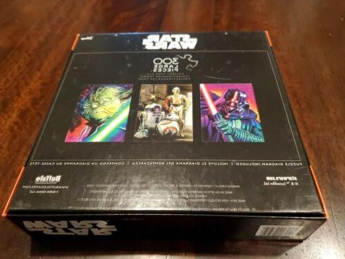 Star Wars Darth Light Saber Oversize 300 Puzzle Buffalo Games