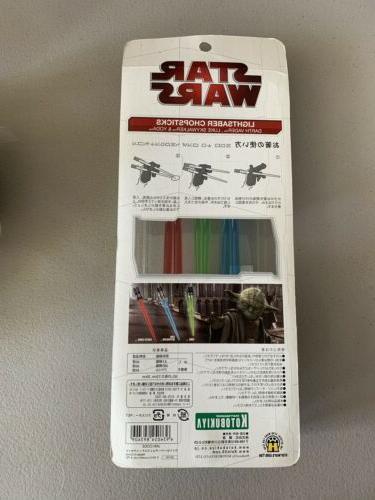 Kotobukiya Darth Vader ,Yoda Lightsaber Chopsticks NEW