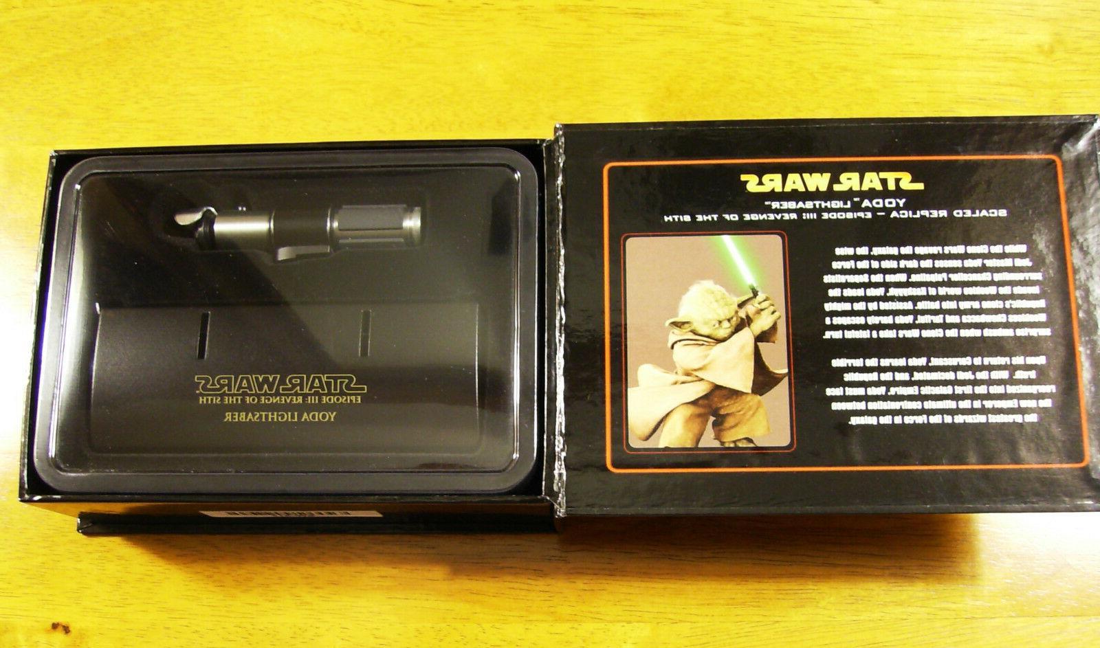 Star Replicas Yoda Lightsaber ROTS Scale SW-317