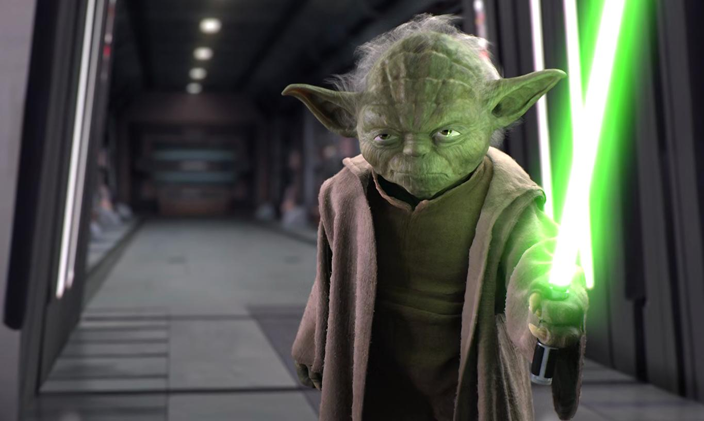Star Wars Master Yoda ROTS Scale