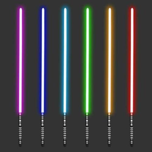 Lightsaber Wars Replica Fx Force Metal Metal RGB Cosplay New