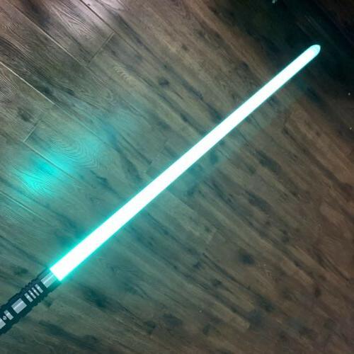 US Stock Lightsaber RGB Force FX Duel Color Change Metal Han