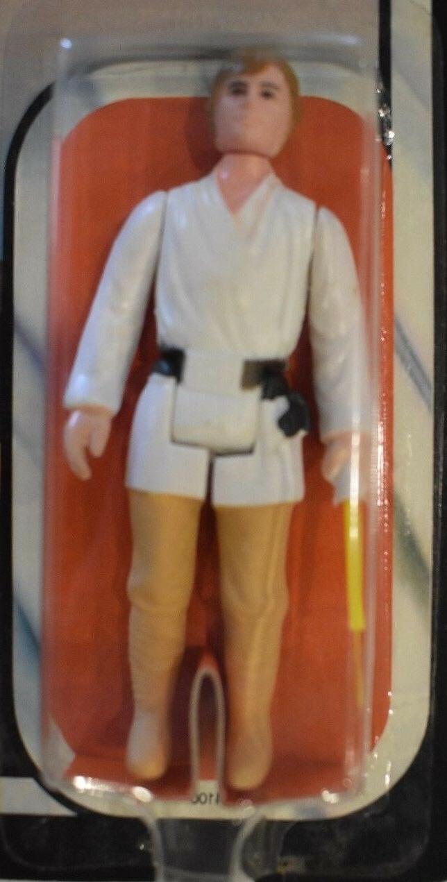Vintage Star Luke Skywalker Strikes 45 Back Kenner AFA ready