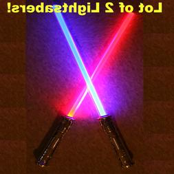 Lightsaber Star Wars   CONNECT Together for 1 LONG DOUBLE SI