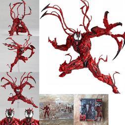 Marvel Carnage Red Venom Edward Brock Action Figure Model Bd