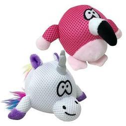 NEW Pink Flamingo or Unicorn Rainbow Bright Spike Ball 2-in-