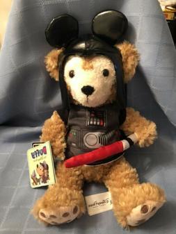 NWT Disney Duffy Mickeys Teddy Bear Star Wars Darth Vadar Pl