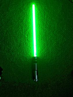 Disney Parks Star Wars Yoda Sound Ultimate FX GREEN. Lightsa