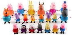 PEPPA PIG FRIENDS & FAMILY MINI FIGURE PACK PLAYSET CUTE TOY
