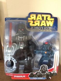 Playskool Darth Vader with lightup Lightsaber