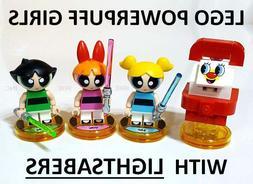 LEGO POWERPUFF GIRLS with LIGHTSABERS