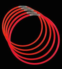 Lumistick Premium 22 Inch Glow Stick Necklaces with Connecto