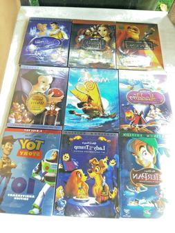 Disney Princess Movie DVD Bundle!  4 pc